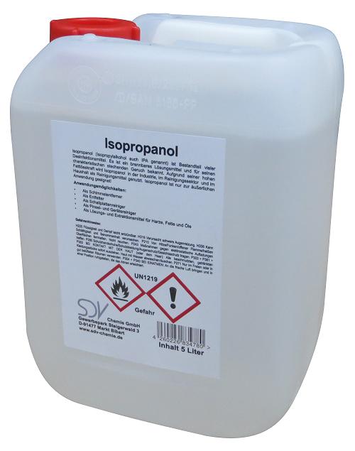 1 x 5 l isopropanol isopropylalkohol ipa 2 propanol 99. Black Bedroom Furniture Sets. Home Design Ideas