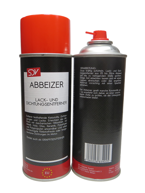 abbeizer 2x 400ml lackentferner dichtungsentferner spray dose autolack kfz pkw ebay. Black Bedroom Furniture Sets. Home Design Ideas