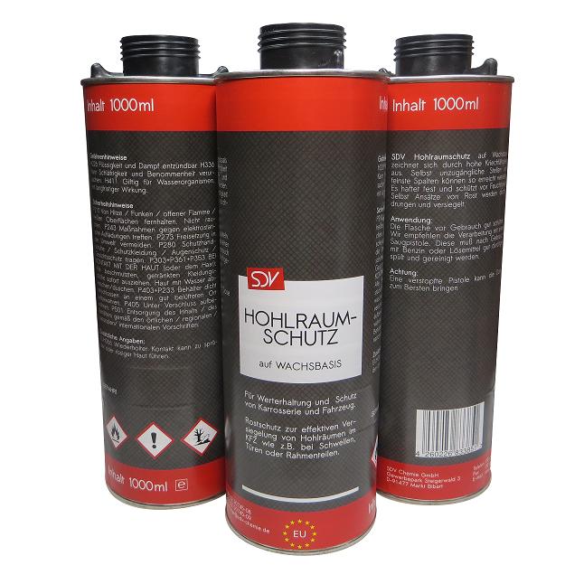 SDV Chemie 1 L Liter HOHLRAUM SPRAY 60cm Sonde Saugpistole HOHLRAUMSCHUTZ VERSIEGELUNG HOHLRAUMWACHS